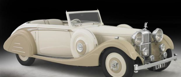 1937 4.3 Alvis drophead coupé with Lancefield coachwork
