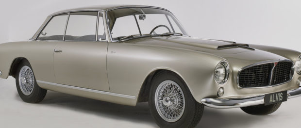 1966 Graber-bodied Alvis TF21 - ALVIS GRABS THE HEADLINES AS ORDER BOOKS OPEN FOR CONTINUATION CLASSICS