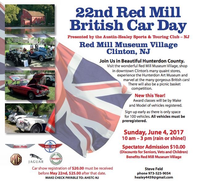 22nd Annual Red Mill British Car Day
