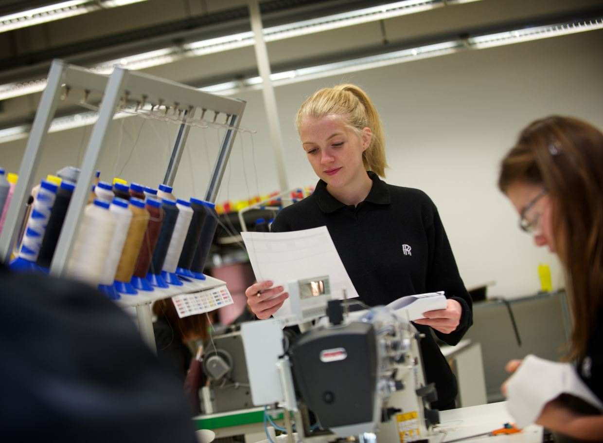 Alice Strachan Leather - ROLLS-ROYCE MOTOR CARS ANNOUNCES RECORD NUMBER OF PLACES AVAILABLE FOR APPRENTICESHIP PROGRAMME