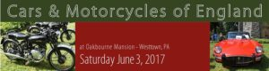 Cars and Motorcycles of England - All British Marque Car and Motorcycle Show