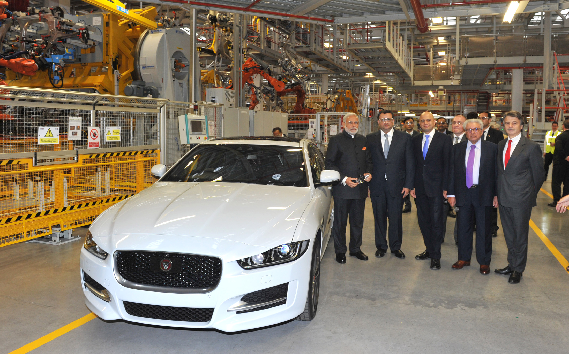 American Demand for British Cars Up 50%- PM Modi at Jaguar Land Rover Plant