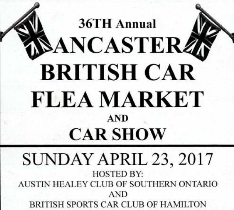Ancaster British Car Flea Market and Car Show