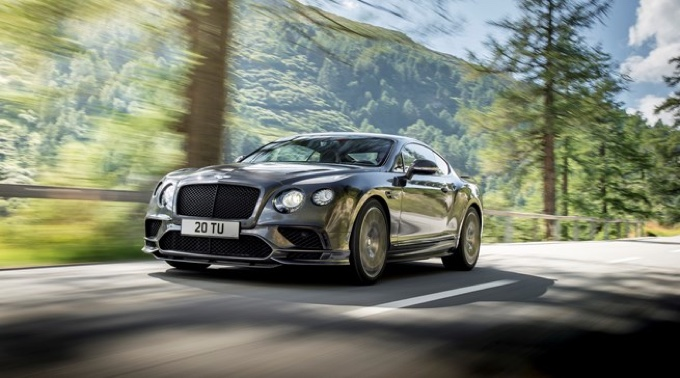 Bentley Continental Supersports - The World's Fastest Four-Seat Car