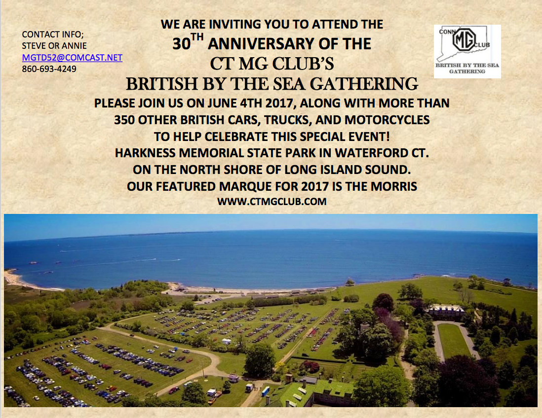 British By The Sea Gathering, 2017