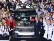 JAGUAR LAND ROVER HEAD OF COMMUNITY RELATIONS, LES RATCLIFFE TD, APPOINTED MBE IN QUEEN'S NEW YEAR HONOURS LIST