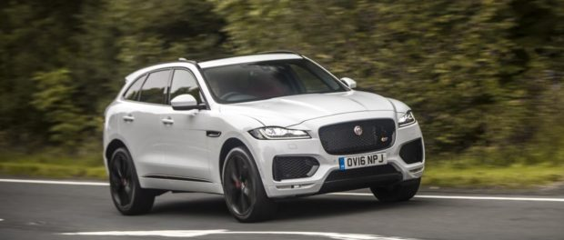 Jaguar F-PACE Crowned Best Large Crossover 2