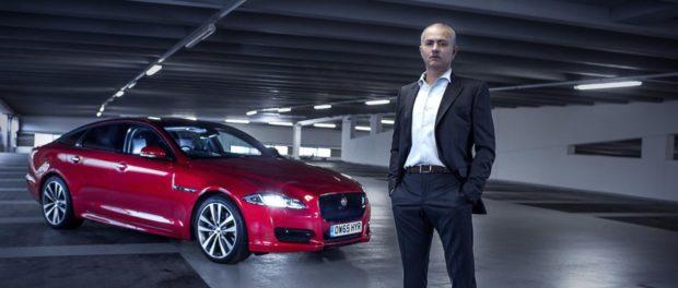 José Mourinho stars in a Jaguar film featuring the XJ