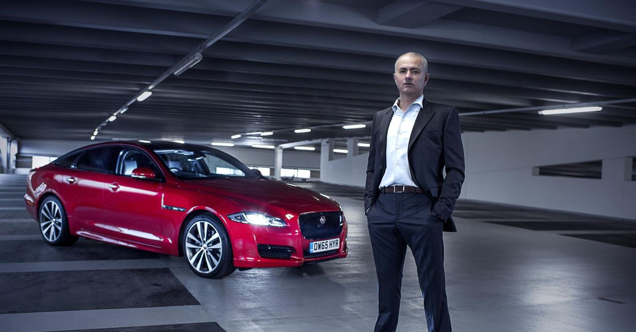José Mourinho stars in a Jaguar film featuring the XJ