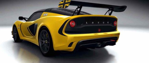 Lotus Announces Exige Race 380 - First Class in Competition - Rear
