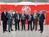 MG Motor UK recognises dealers for outstanding achievement