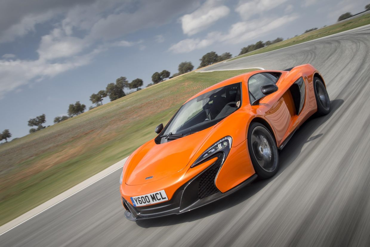 McLaren 650S current first-generation Super Series