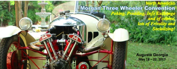 Morgan Three Wheeler Convention