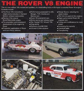 Rover V8 Back
