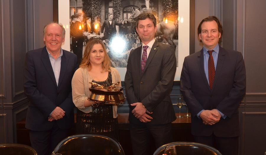 Sir William Lyons Celebrates 50 Years with new winner Heléna Hicks