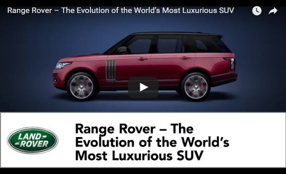 VotW - 48 Years of Range Rover - vid