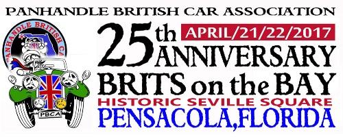 Brits on the Bay - Pensacola - Logo
