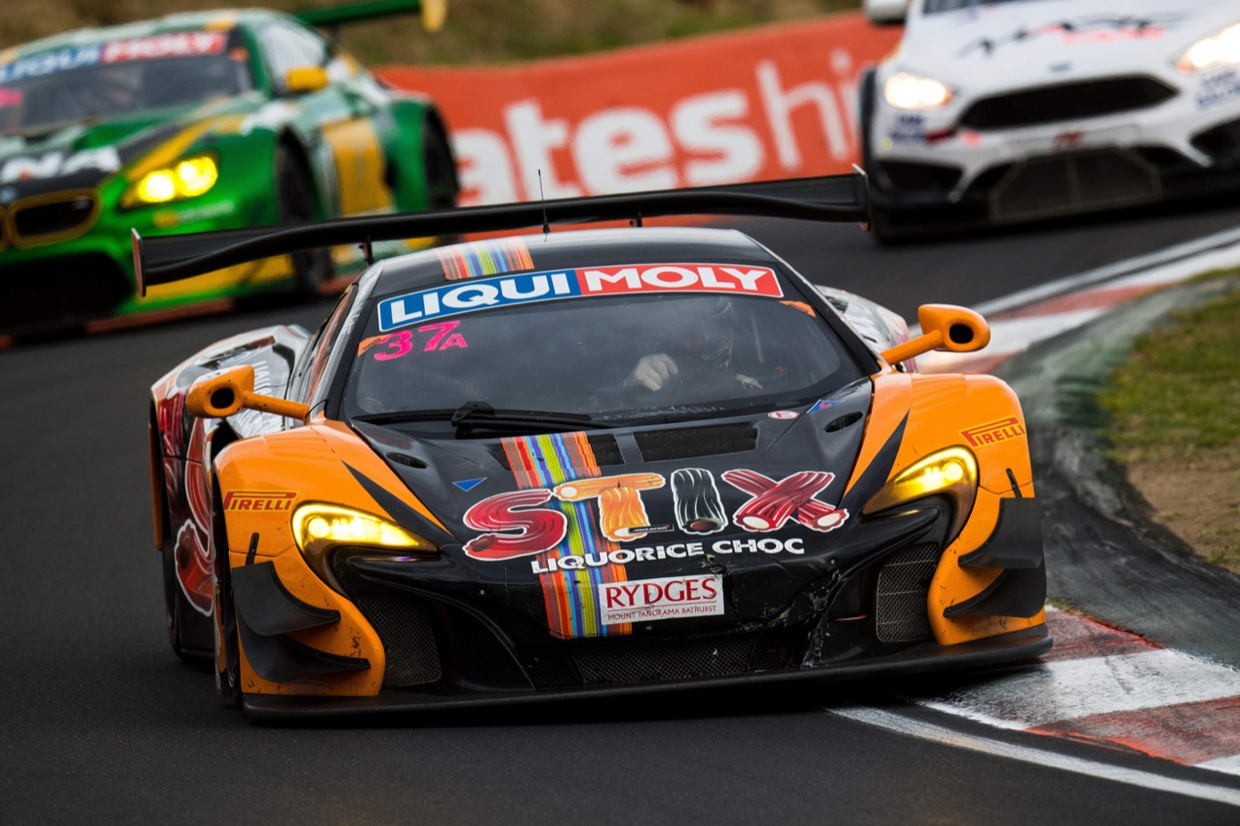 Top five finish for 650S GT3 in 2017 Bathurst 12 hour after heroic comeback drive