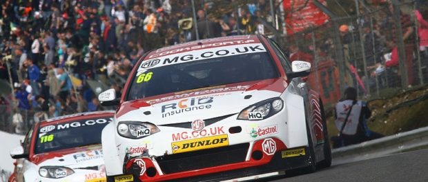 Aron Taylor-Smith and Dan Lloyd will race for the MG British Touring Car Championship team in 2017