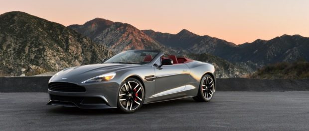 Aston Martin Vanquish Volante - Certified Pro-Owned Program Announced