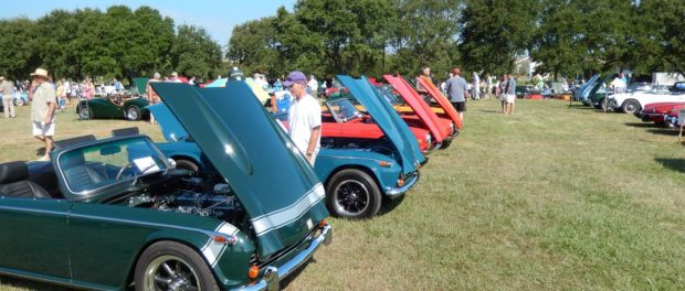 British Motor Car Club of Cape Fear Car Show - Best of British Classic Cars