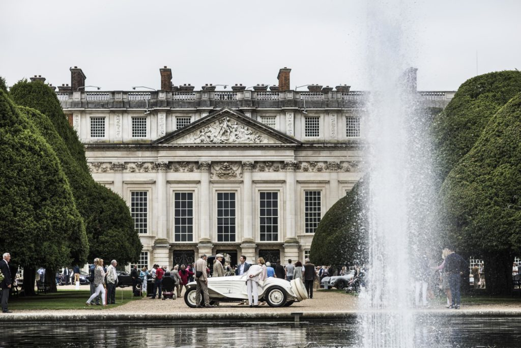 Concours of Elegance, Hampton Court, London