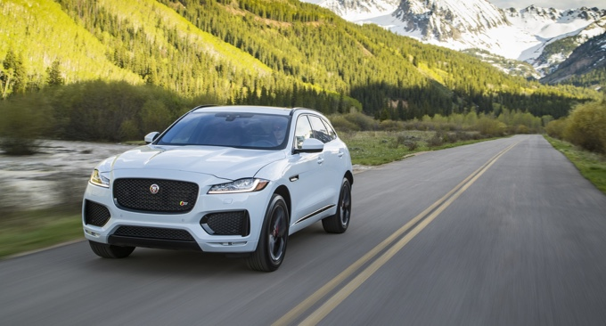 Jaguar F Pace Named Best Luxury Utility By Motorweek Just British