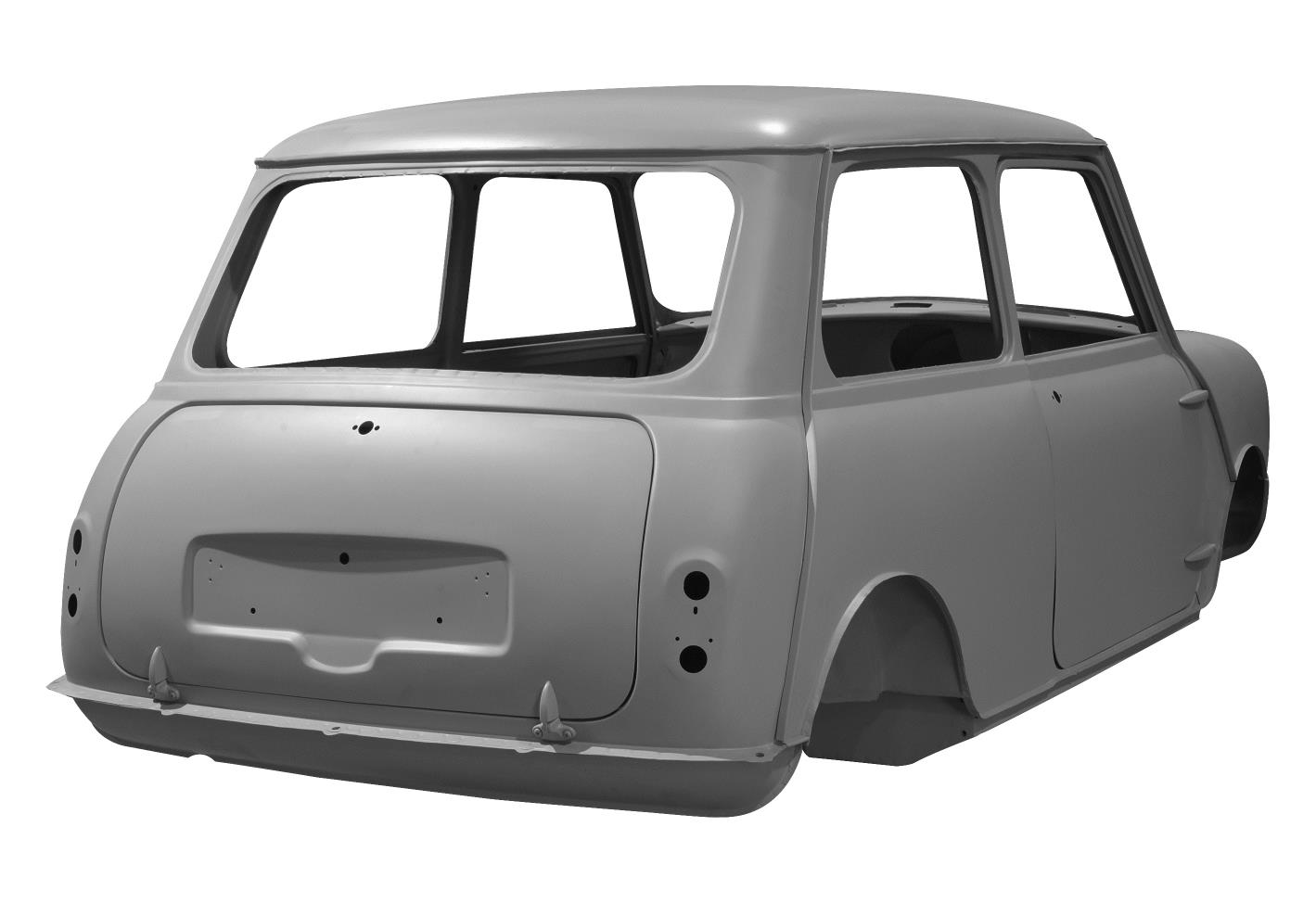 MK1 MINI REAR-THREEQUARTER