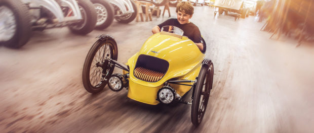 Morgan Introduces EV3 Junior