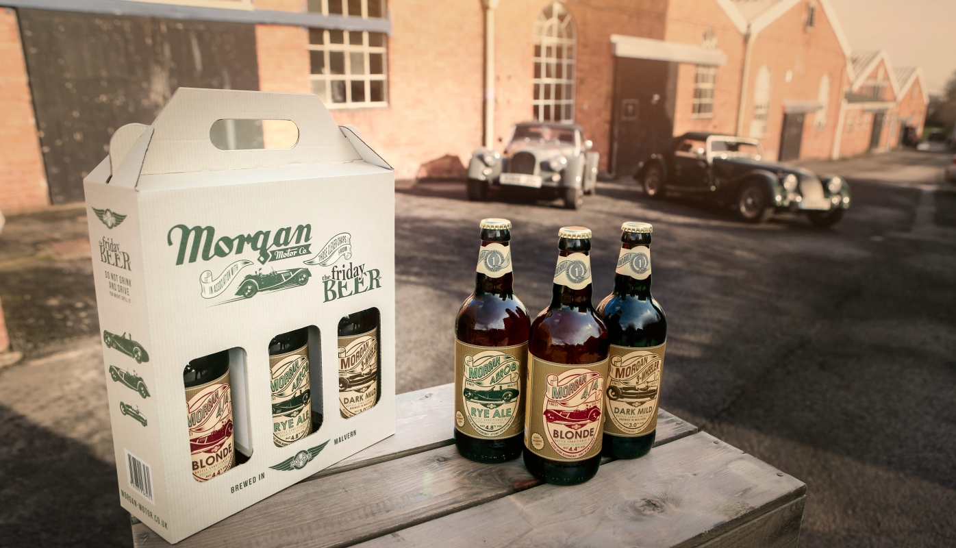 Morgan Motor Company Introduces Collection of Morgan Ales