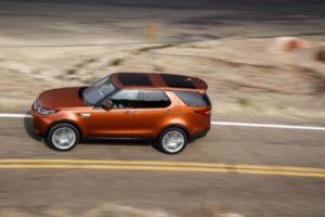 New Land Rover Discovery Namib Orange
