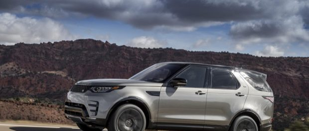 New Land Rover Discovery - Silicon Silver