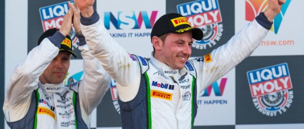 PODIUM FINISH FOR BENTLEY AT BATHURST