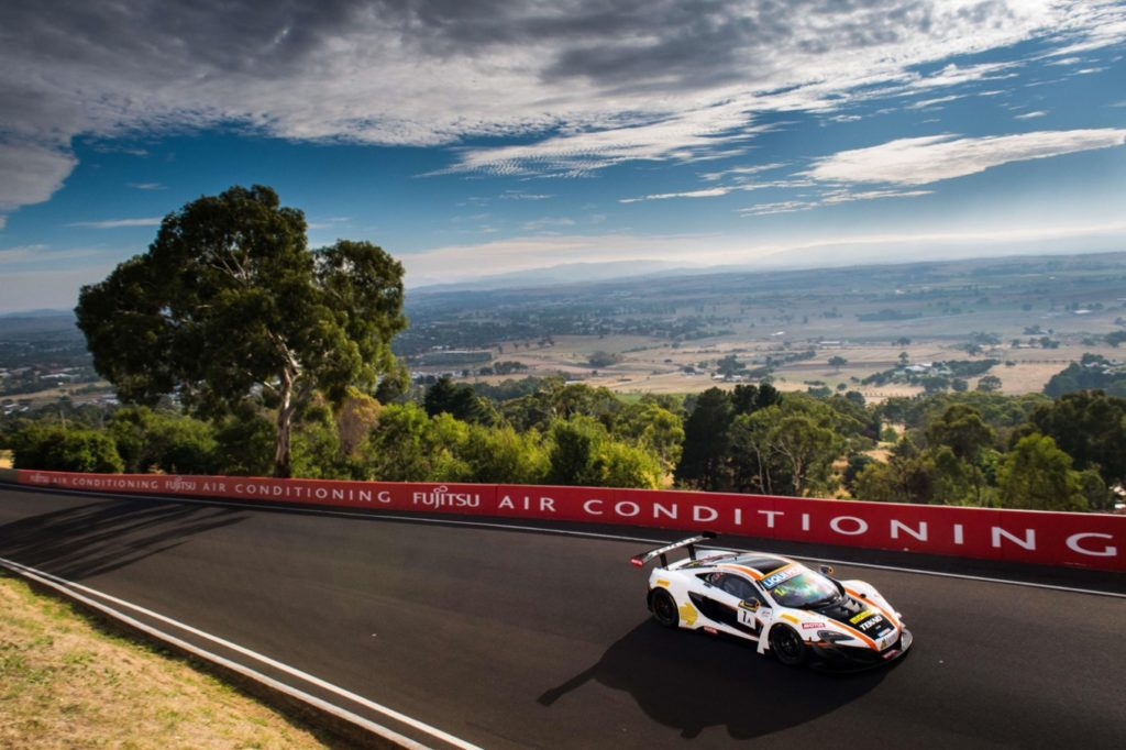 Top five finish for 650S GT3 in 2017 Bathurst 12 hour