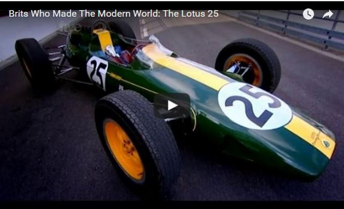 VotW - The Brits who Changed the World - Lotus 25