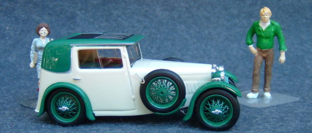 1933 MG F1 Magna RH side 3M