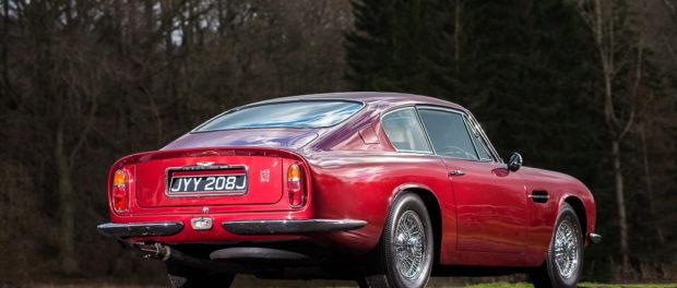 1971 Aston Martin DB6 MKII Vantage rear 34