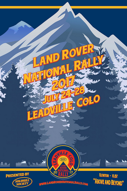 2017 Land Rover National Rally 2