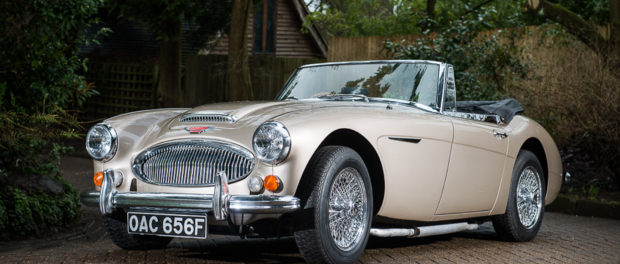 A very special 1967 Austin-Healey 3000 MKIII will go under the hammer at Classic Car Auctions' (CCA) sale at the Practical Classics Classic Car and Restoration Show.