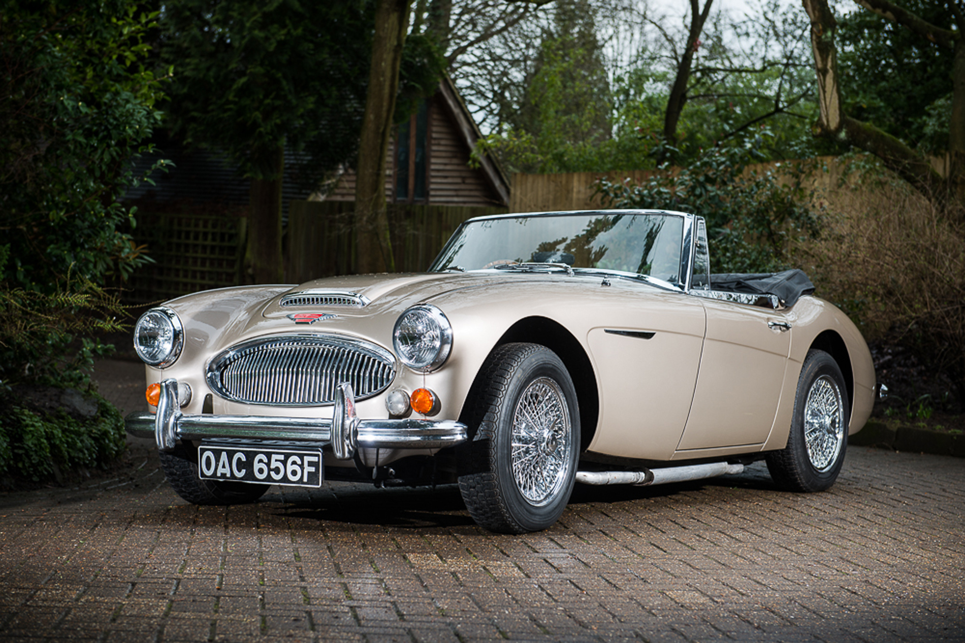 Last Big Healey Ever Made to be Auctioned - Just British