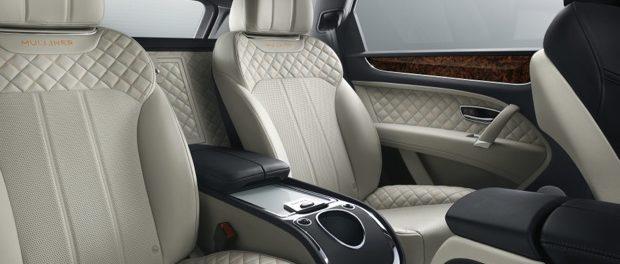 Bentayga Mulliner Rear Interior no bottle