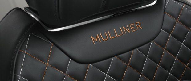 Bentayga Mulliner Seat detail