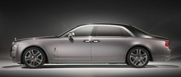 Bespoke Elegance with Rolls-Royce Ghost Extended Wheelbase Elegance