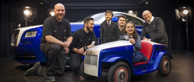 Big Unveil for Smallest Rolls-Royce