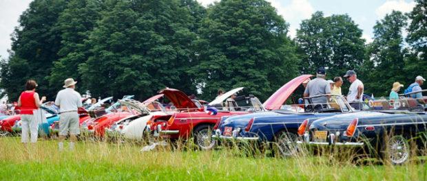 British Car Day at Pittburgh Vintage Grand Prix