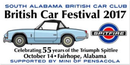 British Car Festival, Fairhope, AL