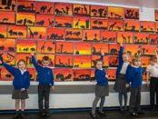Children Transform MG Garage into Gallery 1