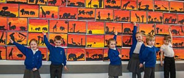 Children Transform MG Garage into Gallery 1