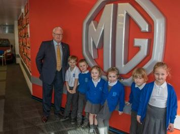Children Transform MG Garage into Gallery 2