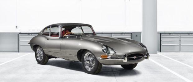 Jaguar Classic - Jaguar E-Type Restoration